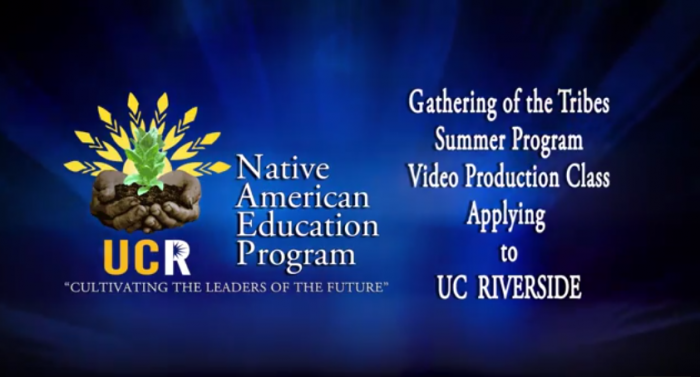 UCR NAEP Application Video